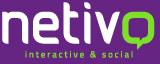 Logo Netivo - agencji zajmującej się budowaniem stron i promocją firm w Internecie