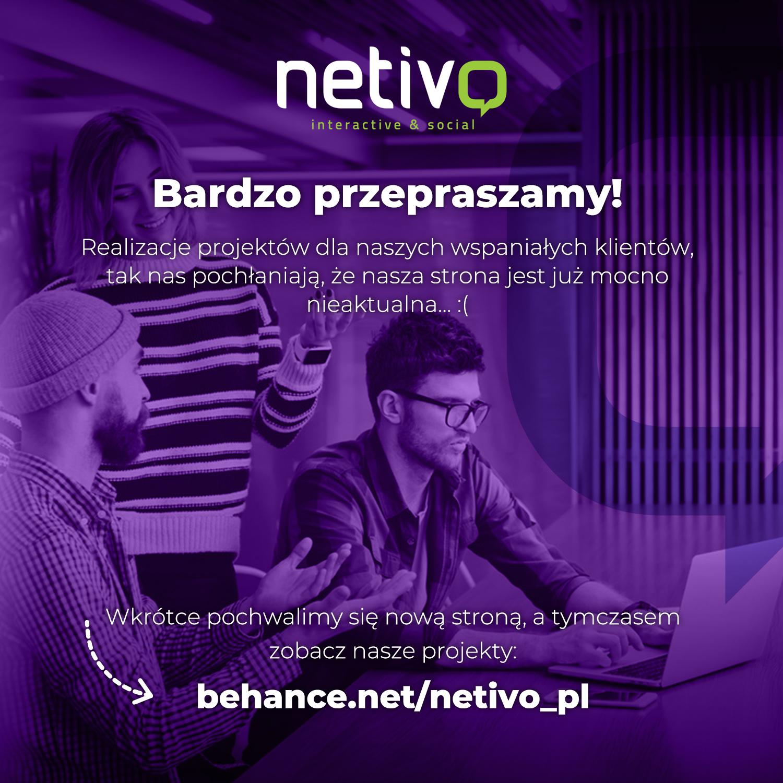 Nowa strona już wkrótce. Zobacz nasze realizacje na Behance.